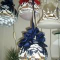 Vánoční ozdoby s vniřním osvětlením